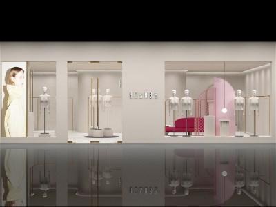 紅凱貝爾女裝店產品陳列圖